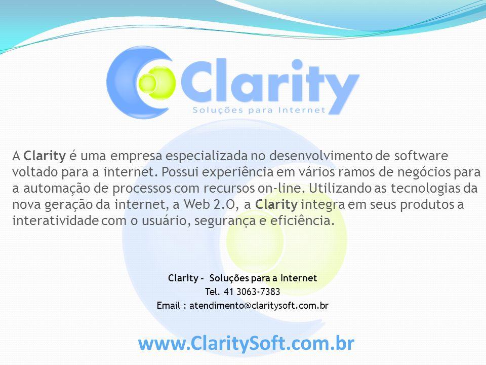 Clarity - Soluções para a Internet