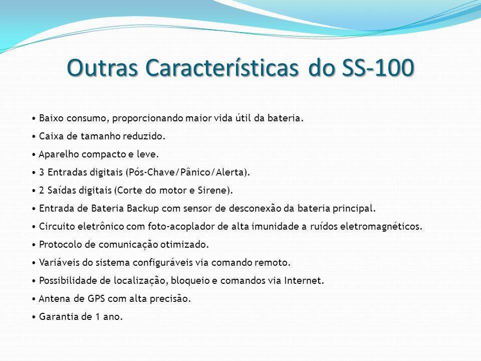 Outras Características do SS-100