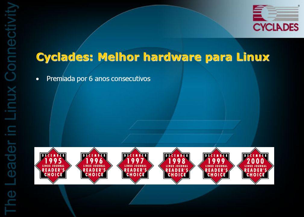 Cyclades: Melhor hardware para Linux