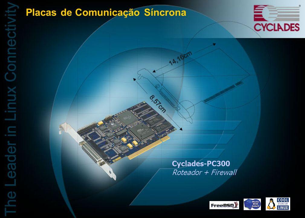 Placas de Comunicação Síncrona