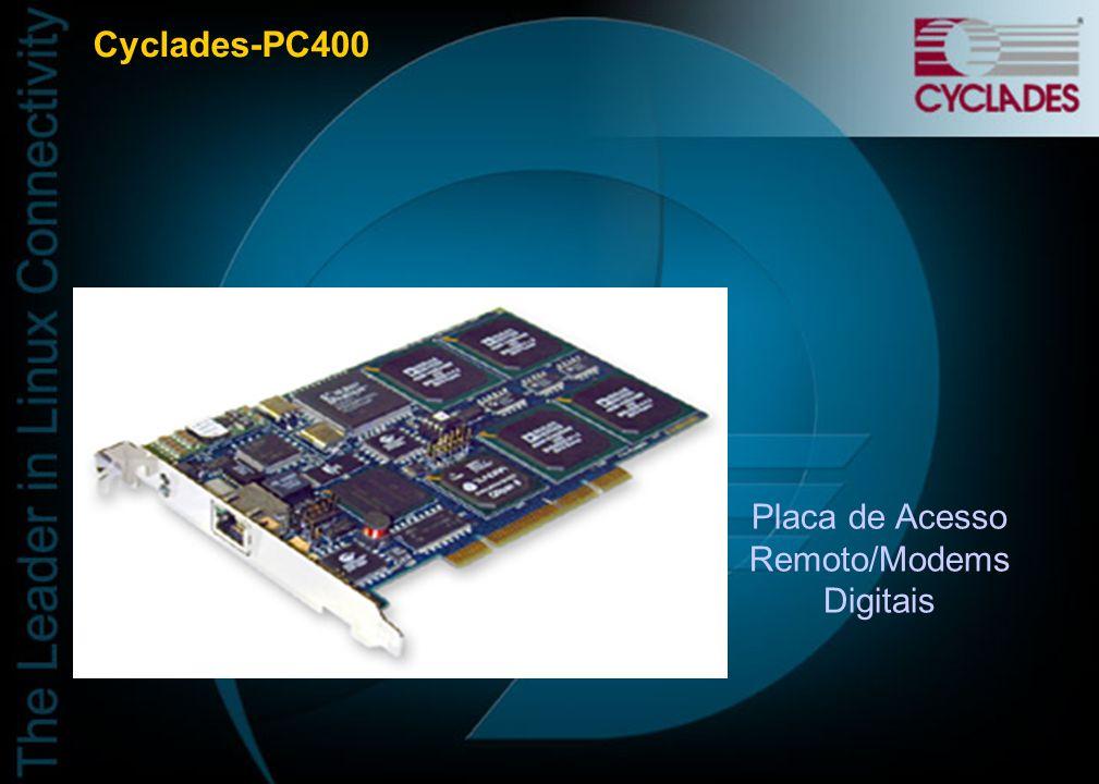 Placa de Acesso Remoto/Modems Digitais