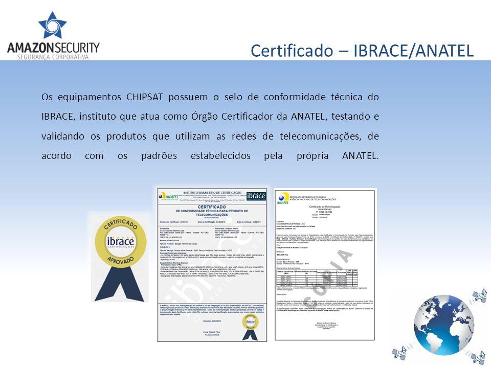 Certificado – IBRACE/ANATEL