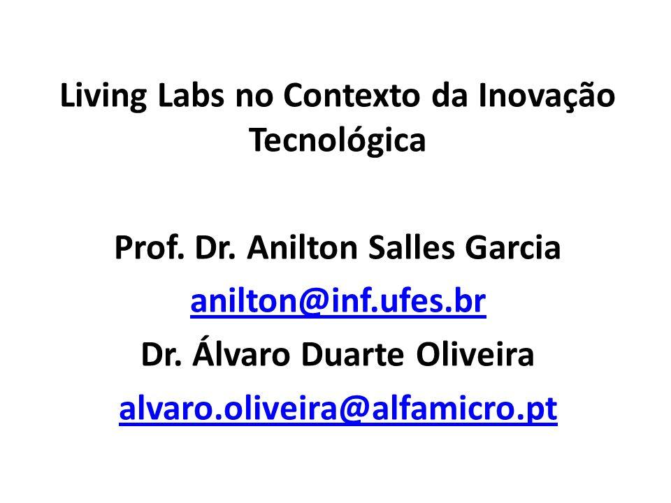 Living Labs no Contexto da Inovação Tecnológica
