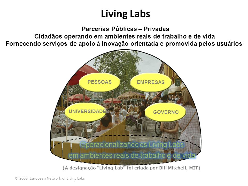 Living Labs Operacionalizando os Living Labs