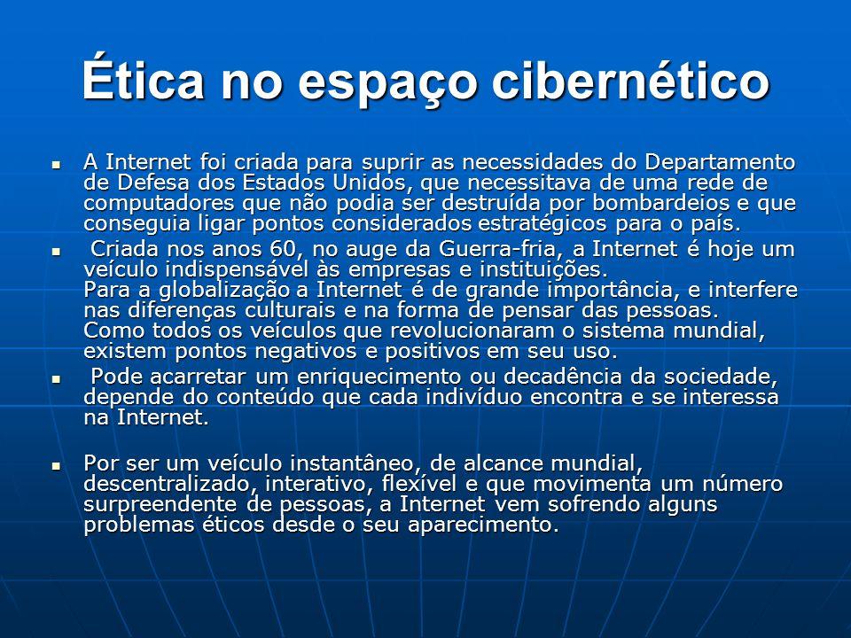 Ética no espaço cibernético