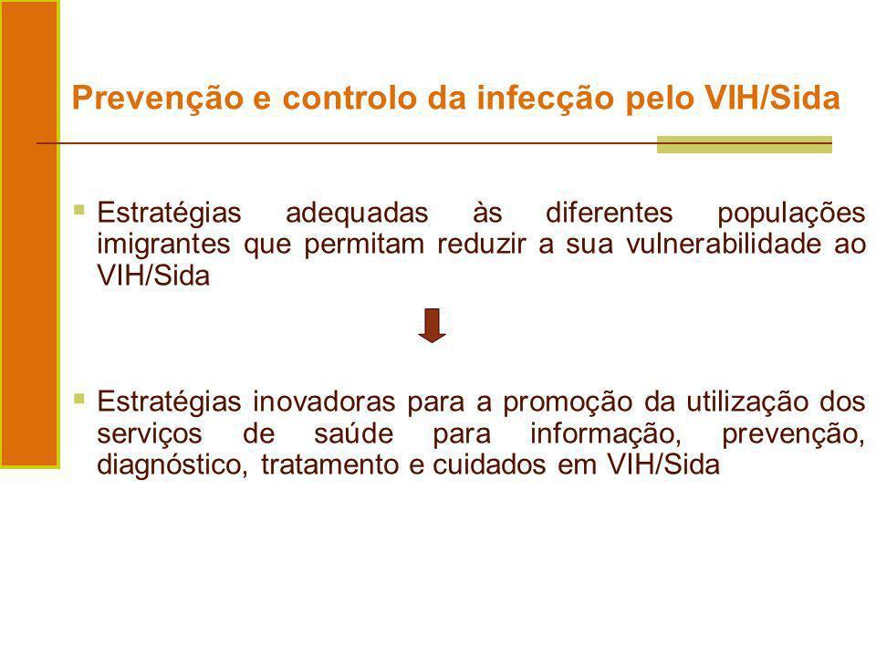 Prevenção e controlo da infecção pelo VIH/Sida