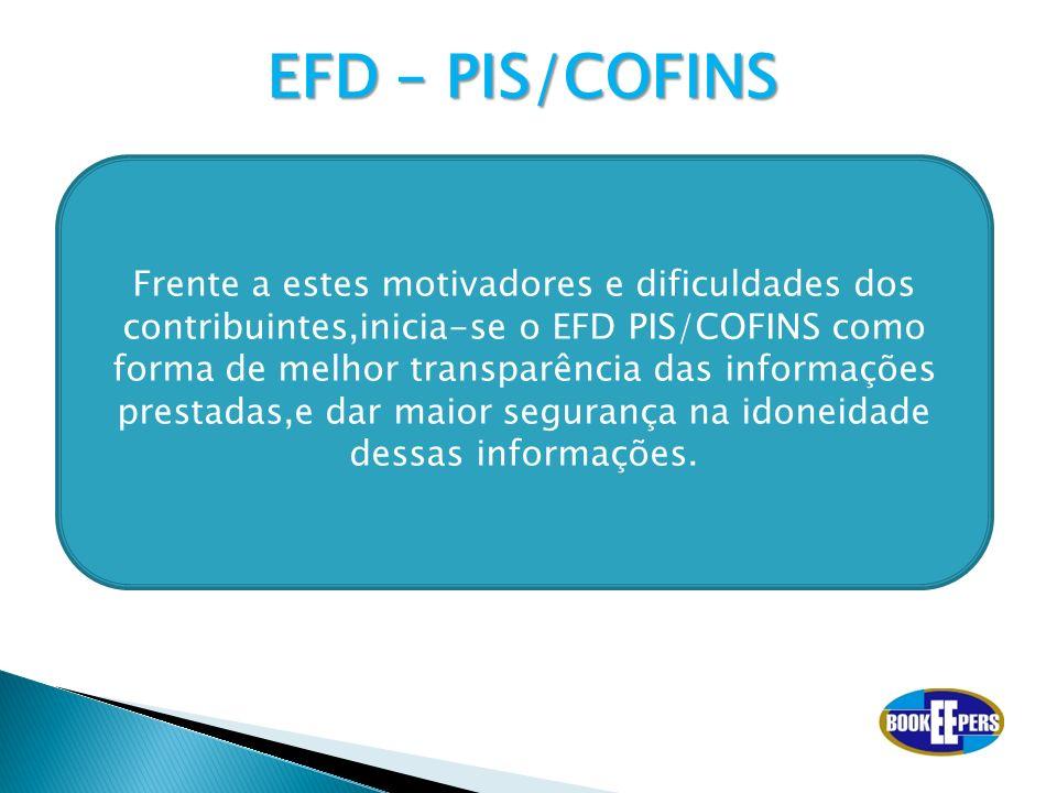 EFD – PIS/COFINS
