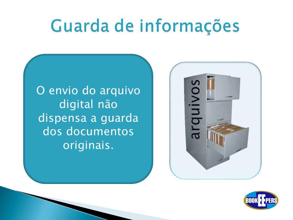 Guarda de informações arquivos