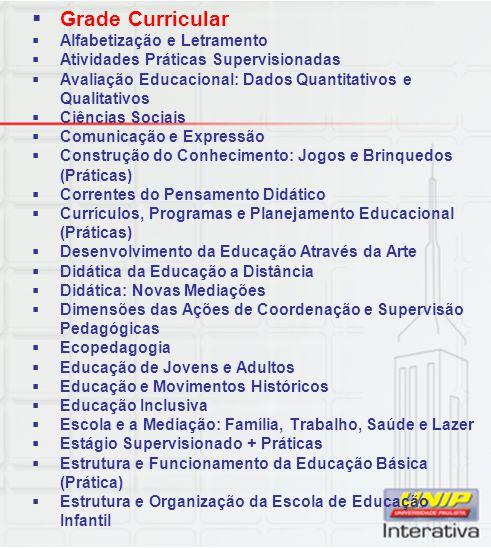 Grade Curricular Alfabetização e Letramento