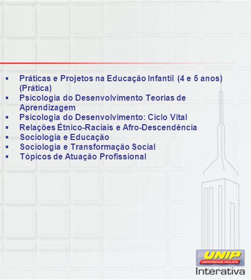 Práticas e Projetos na Educação Infantil (4 e 5 anos) (Prática)