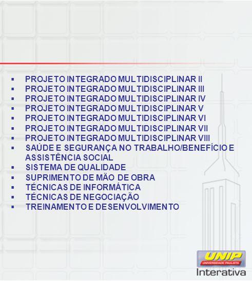 PROJETO INTEGRADO MULTIDISCIPLINAR II