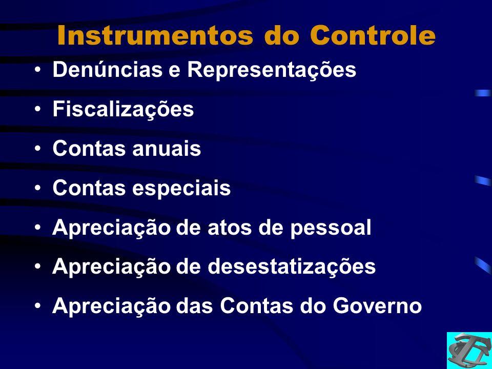 Instrumentos do Controle
