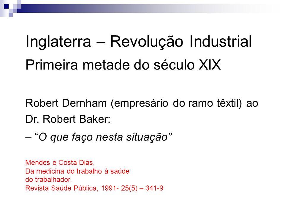 Inglaterra – Revolução Industrial