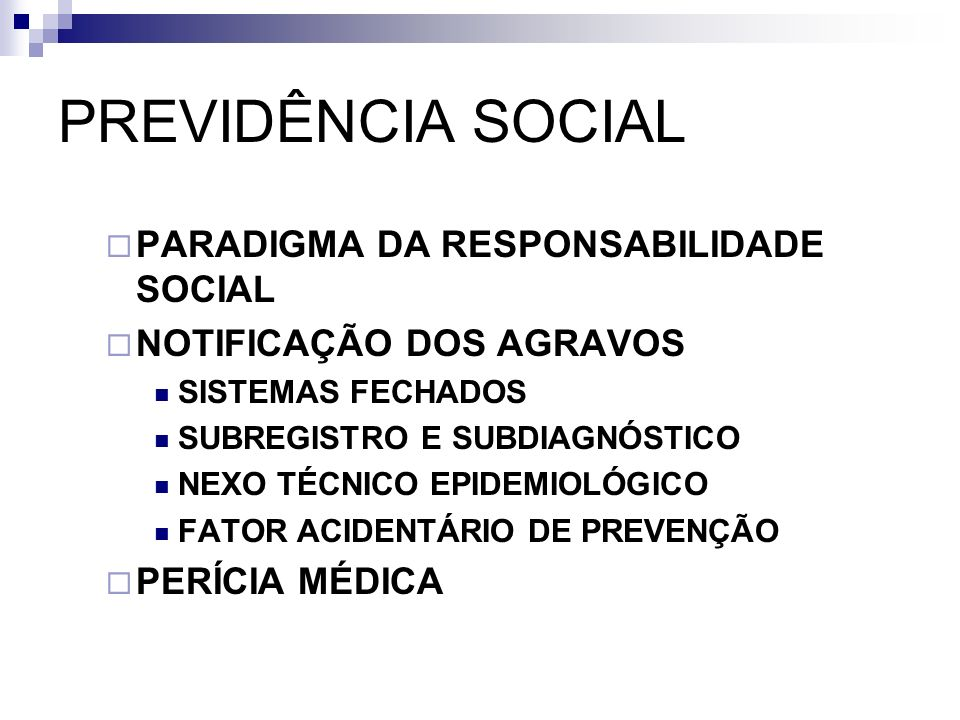 PREVIDÊNCIA SOCIAL PARADIGMA DA RESPONSABILIDADE SOCIAL