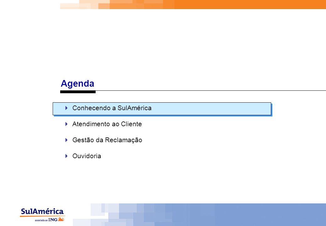 Agenda Conhecendo a SulAmérica Atendimento ao Cliente