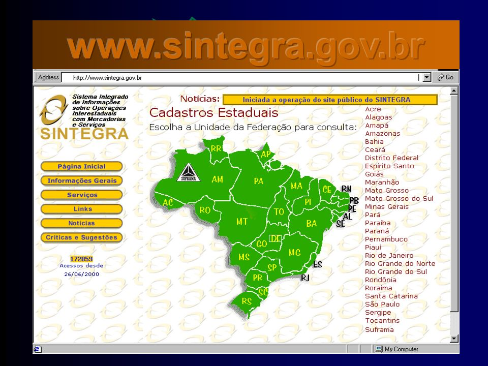 www.sintegra.gov.br