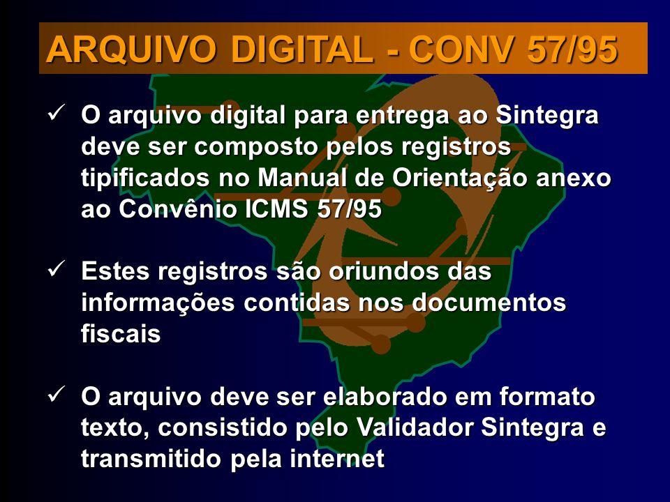 ARQUIVO DIGITAL - CONV 57/95