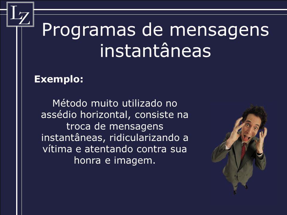 Programas de mensagens instantâneas