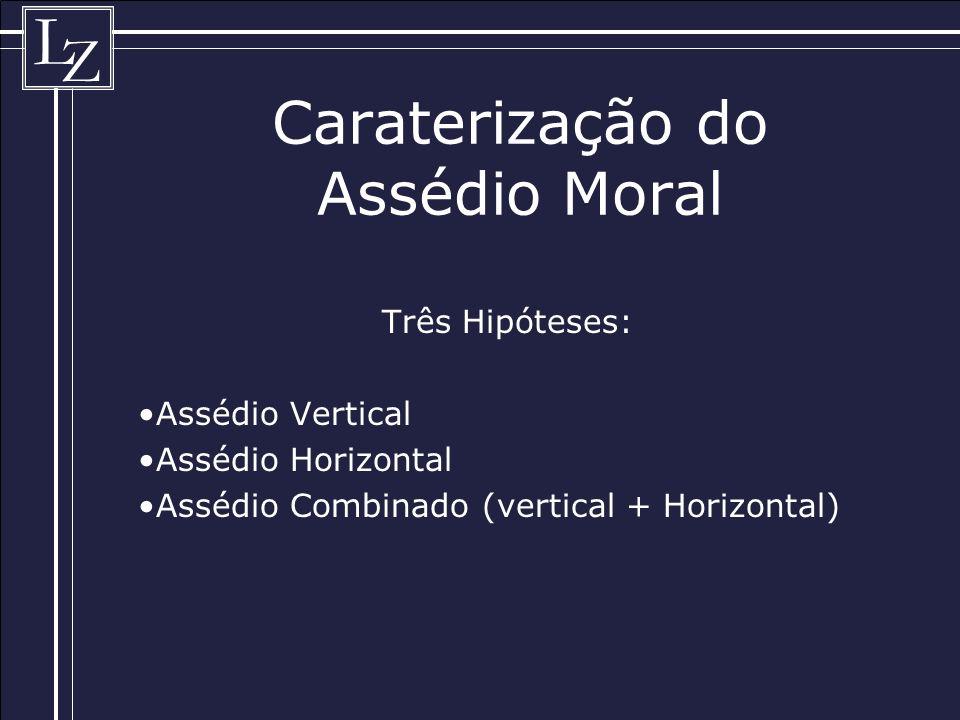 Caraterização do Assédio Moral