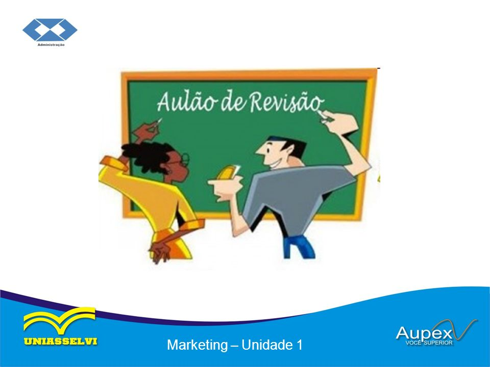Marketing – Unidade 1
