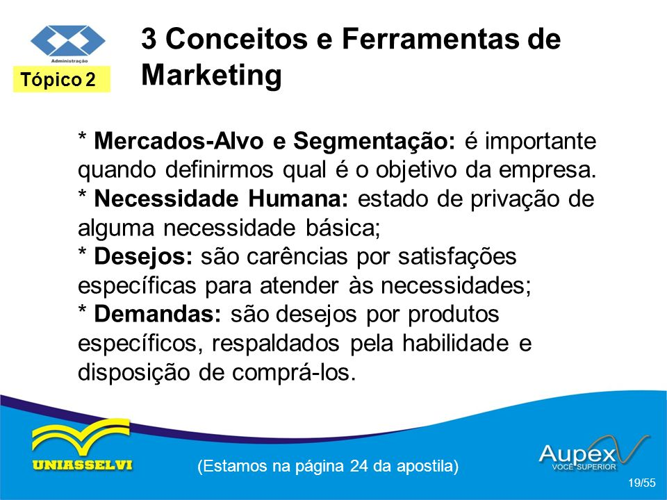 3 Conceitos e Ferramentas de Marketing