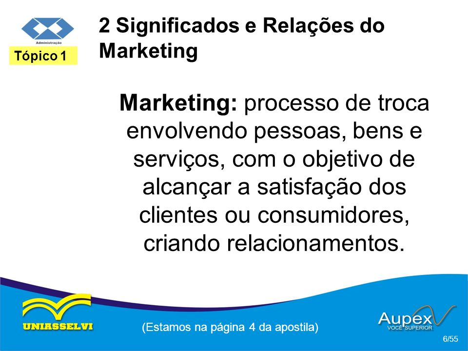 2 Significados e Relações do Marketing