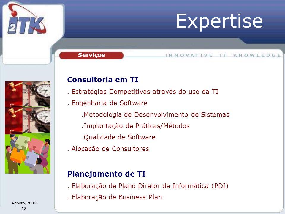 Expertise Consultoria em TI Planejamento de TI