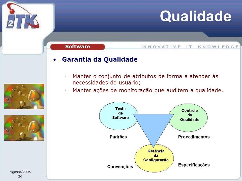 Qualidade Garantia da Qualidade