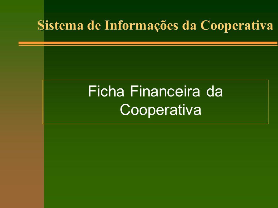 Ficha Financeira da Cooperativa