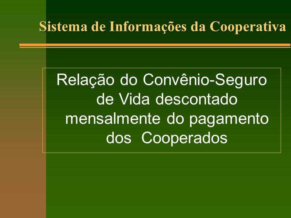 Sistema de Informações da Cooperativa