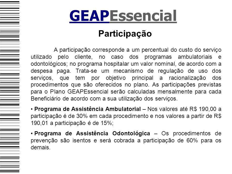 GEAPEssencial Participação