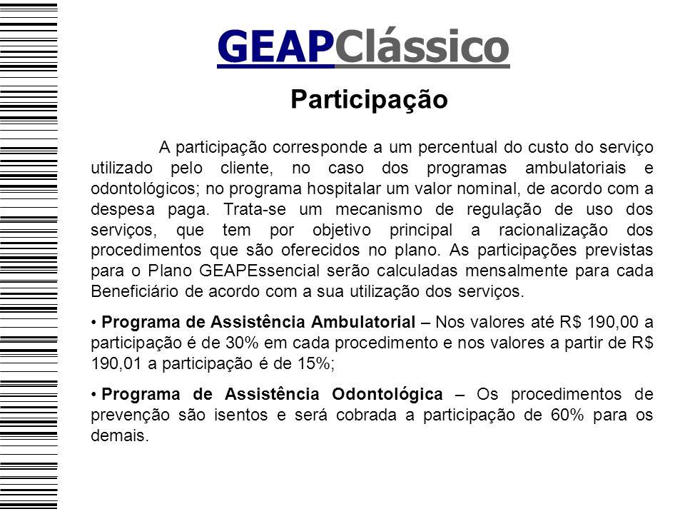 GEAPClássico Participação