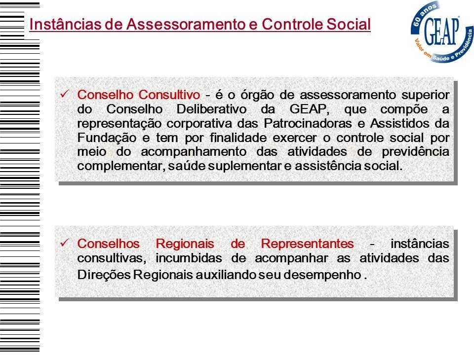 Instâncias de Assessoramento e Controle Social