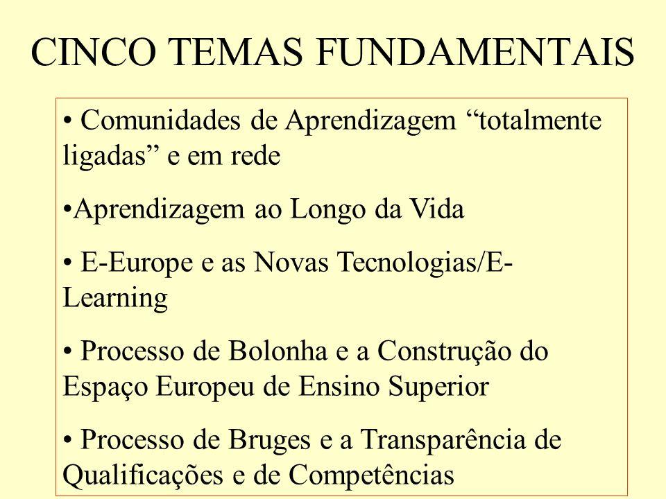 CINCO TEMAS FUNDAMENTAIS