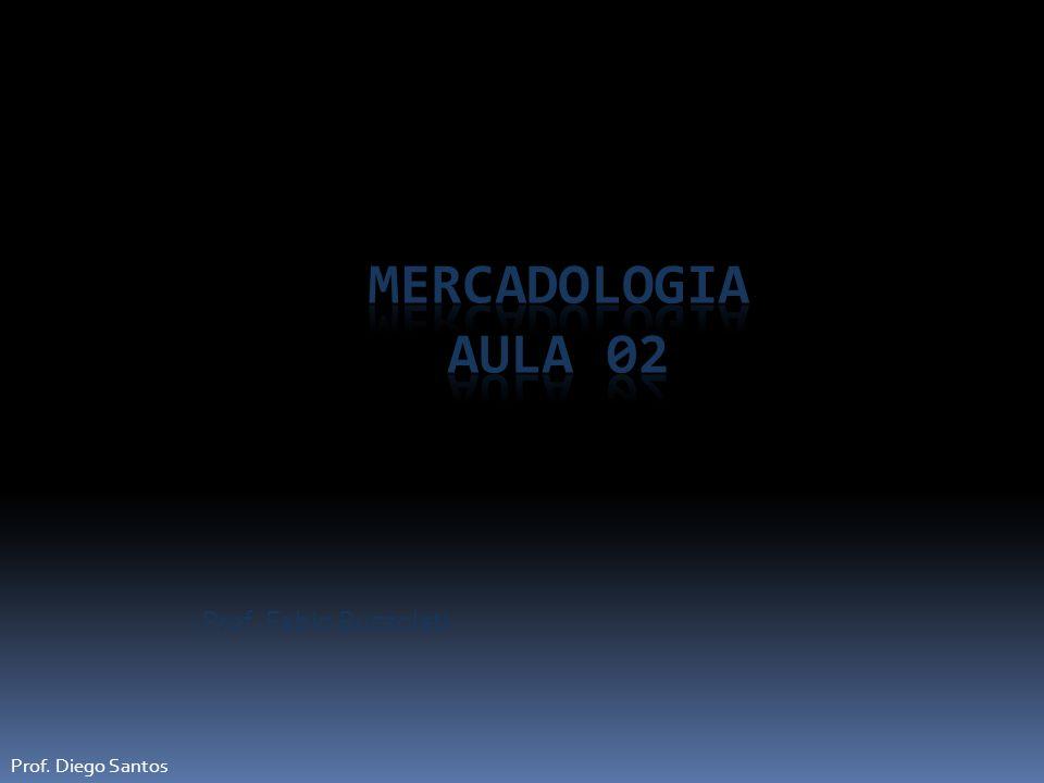 Mercadologia Aula 02 Prof. Fabio Buzzoleti Prof. Diego Santos