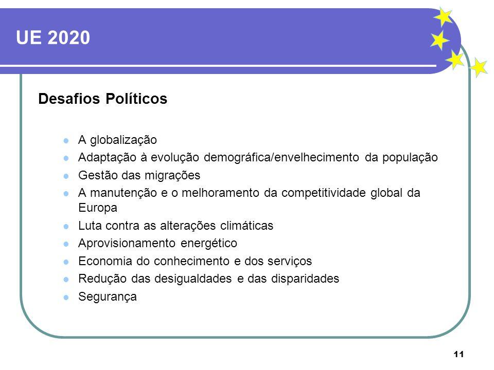 UE 2020 Desafios Políticos A globalização