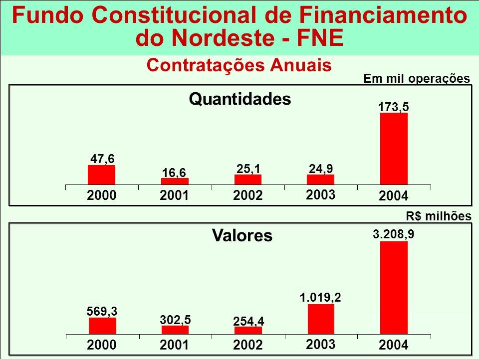 Fundo Constitucional de Financiamento do Nordeste - FNE