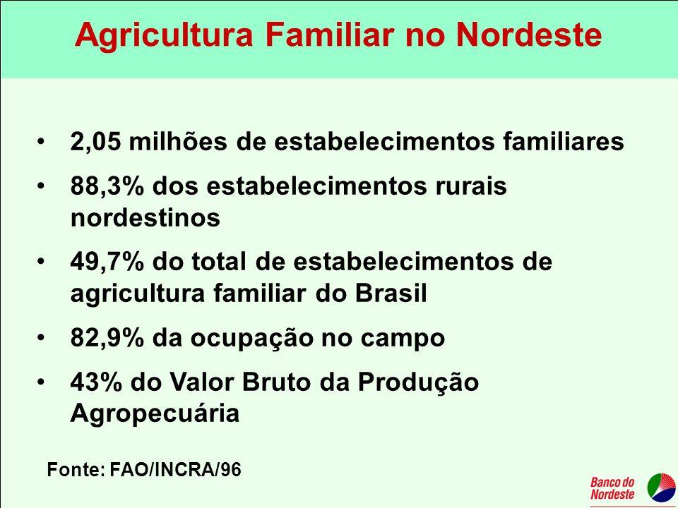 Agricultura Familiar no Nordeste
