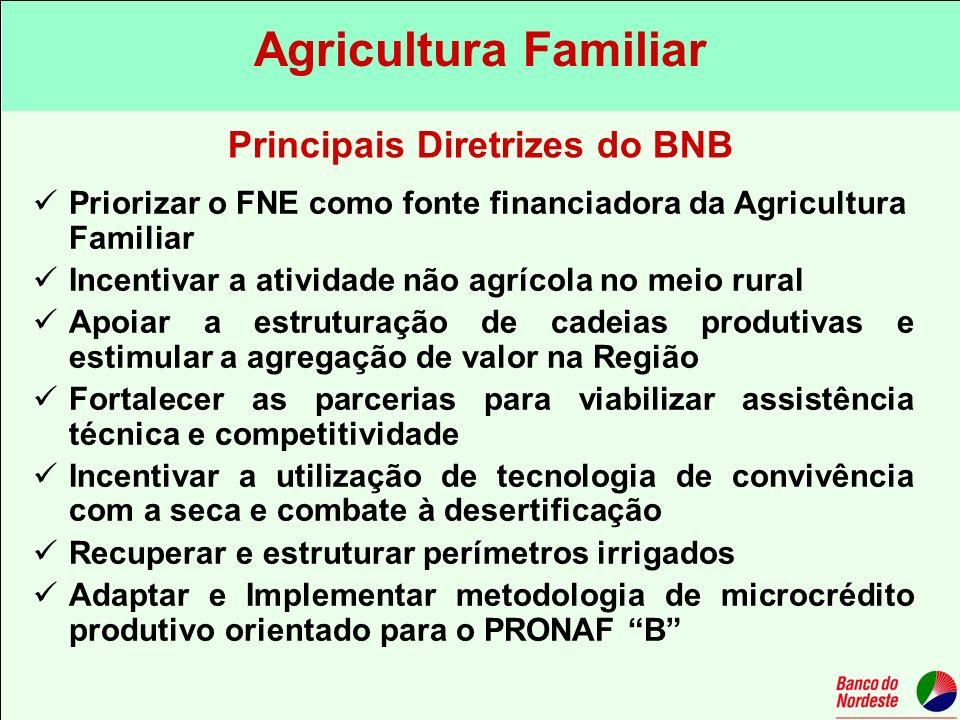 Principais Diretrizes do BNB