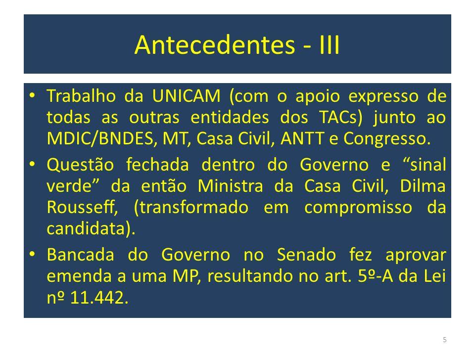 Antecedentes - III