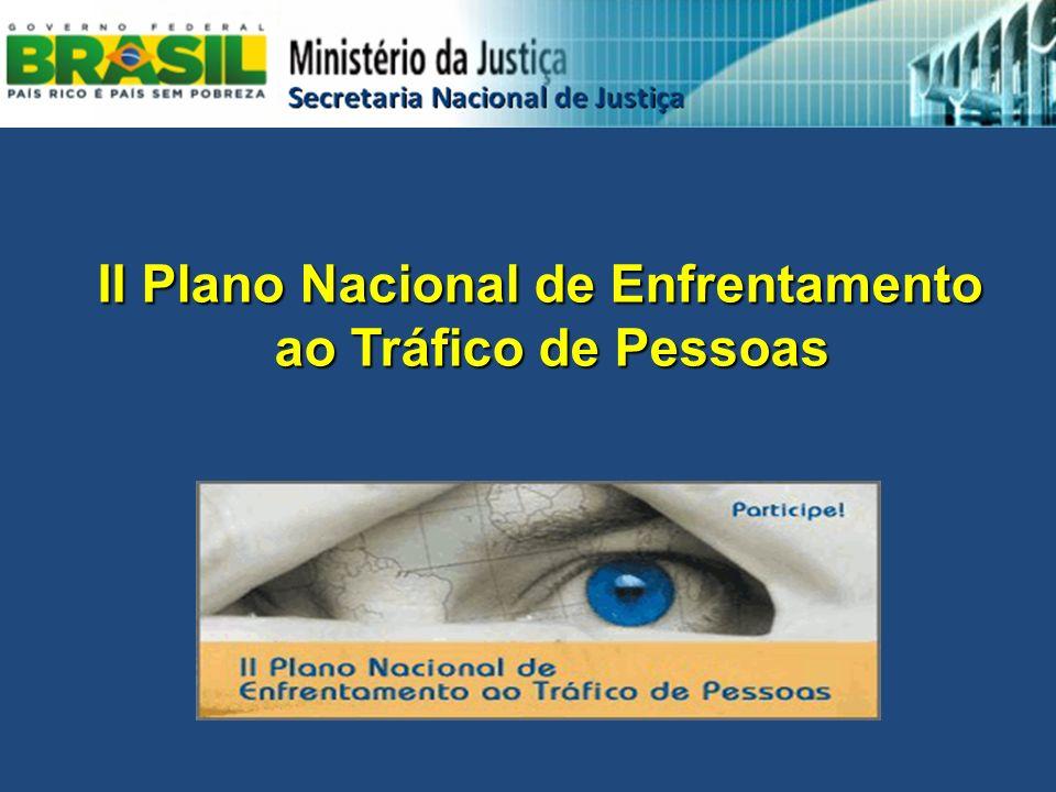 II Plano Nacional de Enfrentamento ao Tráfico de Pessoas