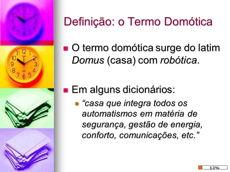 Definição: o Termo Domótica