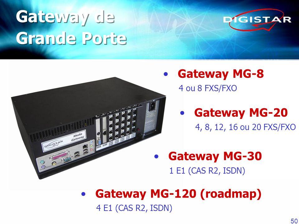 Gateway de Grande Porte Gateway MG-8 Gateway MG-20 Gateway MG-30