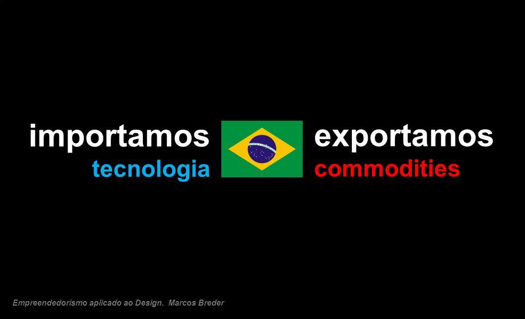importamos exportamos tecnologia commodities