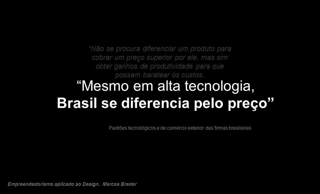Brasil se diferencia pelo preço