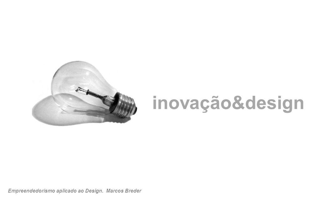 inovação&design Empreendedorismo aplicado ao Design. Marcos Breder 21