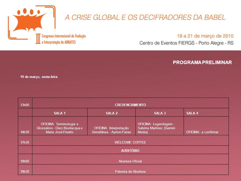 OFICINA: Interpretação Simultânea - Ayrton Farias