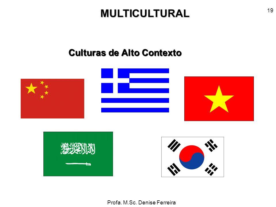 MULTICULTURAL Culturas de Alto Contexto 19