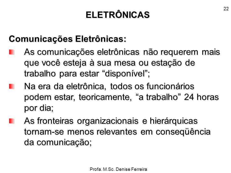 Comunicações Eletrônicas: