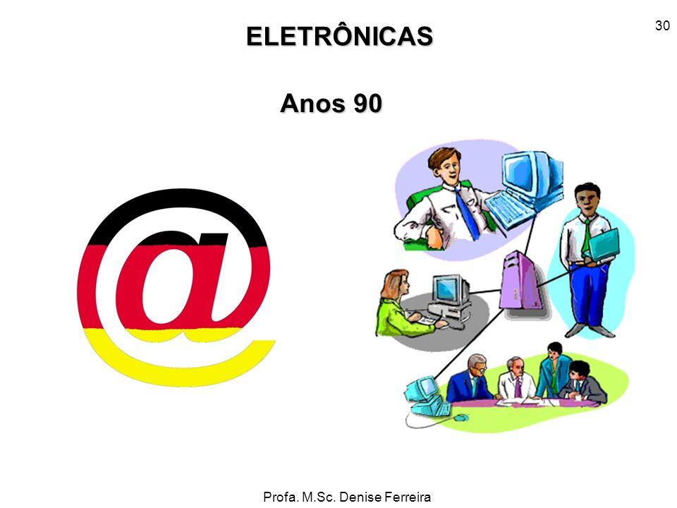 ELETRÔNICAS Anos 90 30